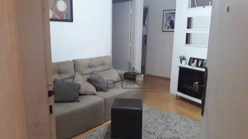 Imagem 1 de 21 de Apartamento Com 2 Dormitórios À Venda, 55 M² Por R$ 250.000,00 - Centro - Campinas/sp - Ap19208