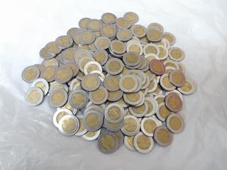 Monedas De 5 Circuladas Del Bicentenario Y Centenario