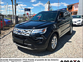 Ford Explorer 3.5 Xlt 4x4 At 290hp Entrega Inmediata ! Amaya