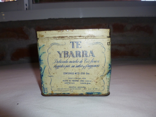 Caja Lata De Te Antigua,buen Estado- Para Coleccionar