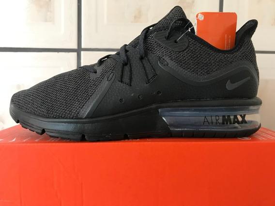 Tênis Nike Air Max Sequent 3 Masculino Preto Original