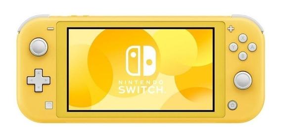 Nintendo Switch Lite 32GB amarelo