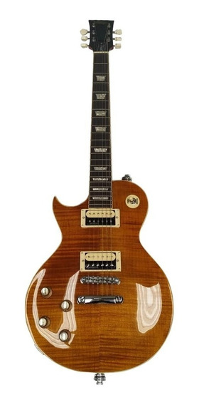 Guitarra Les Paul Canhota Vintage Lv100afd Paradise Slash.