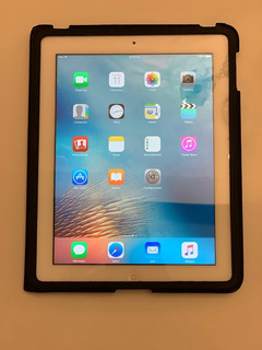 Apple iPad 3 De 16 Gb Libre De Icloud + Cover Original