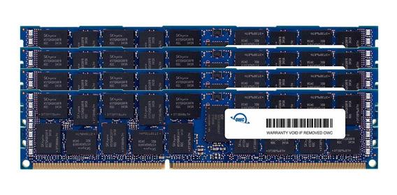 Memoria Ram 16gb Owc 64.0gb (4 X ) Pc3-14900 1866mhz Ddr3 Ecc-r Sdram Upgrade Kit Ecc Registered (owc1866d3r9m64) Para M