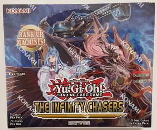 Yugioh! Yu-gi-oh! Caja The Infinity Chasers Nueva !!!