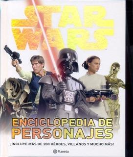 Libro Star Wars Enciclopedia De Personajes - Disney Lucas