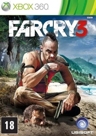 Far Cry 3 Em Português Xbox 360 Mídia Digital Promoção !!!