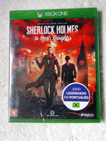 Sherlock Holmes The Devils Daughter Mídia Física Xbox One