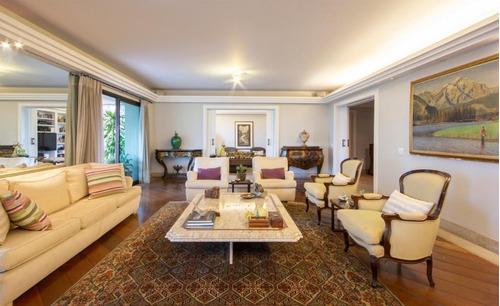 Imagem 1 de 30 de Apartamento Na Melhor Localização De Um Dos Bairros Mais Cobiçados À Venda E/ou Locação 386 M² - Vila Nova Conceição - São Paulo - Ap14953