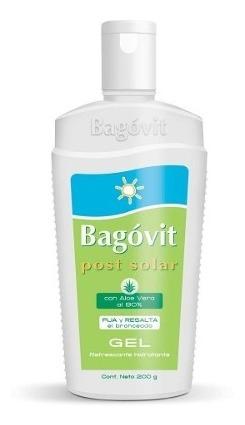 Bagovit Post Solar Gel Refrescante Con Aloe Vera Al 80% 200g