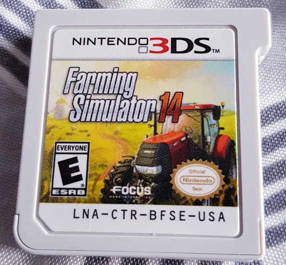 Farming Simulator 14 Nintendo 3ds 2ds ( Sem Caixa)