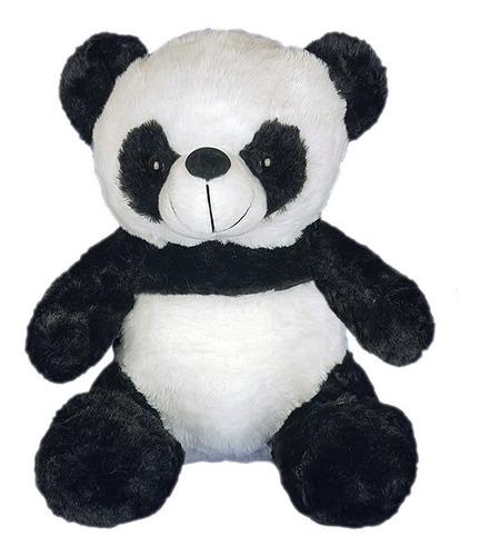 Imagem 1 de 3 de Urso Panda De Pelúcia 30cm - Sentado