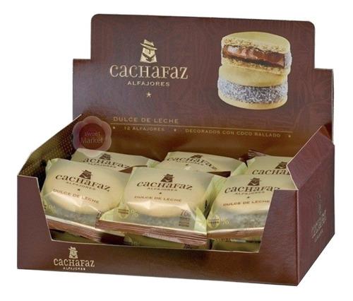 Imagen 1 de 7 de Alfajores Cachafaz De Maicena X12u - Oferta En Sweet Market