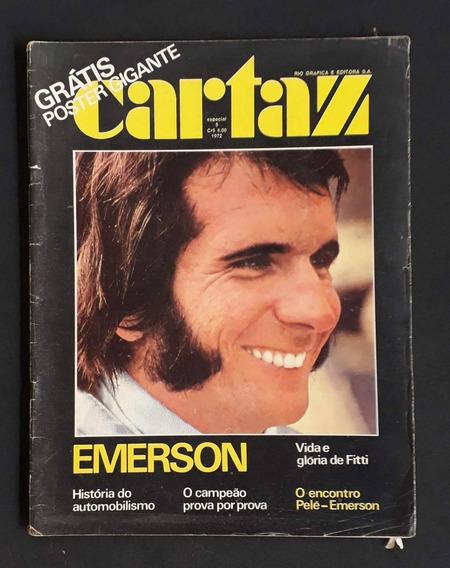 Cartaz Emerson Fittipaldi Campeão F1 1972 S/ Poster - L.2120