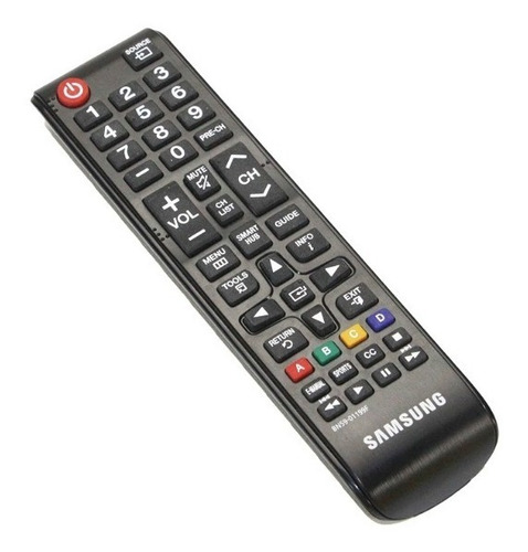 Control Remoto Samsung Smar Tv Lcd Led Version Chico + Pilas