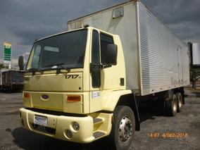 Ford Cargo 1717 6x2 Ano 2010 Modelo 2010 Com Bau Seco