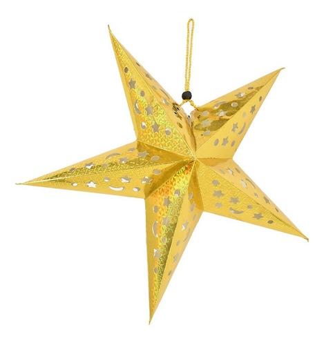 Estrella Colgable Adorno Decoracion Navideña Navidad Casa