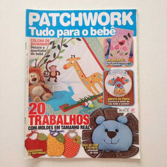 Revista Patchwork Tudo Pra O Bebê Almofada De Leão Cc129