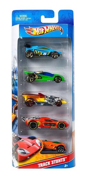 Hot Wheels, Paquete De 5 Autos