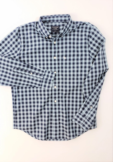 Abercrombie & Fitch 100% Original Long Sleeve Check Shirt