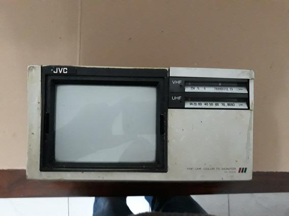 Tv Monitor Vhf/uhf - Color Jvc Cx-610us