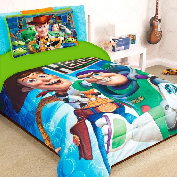 Cobertor Matrimonial Providencia Toy Story Training Borrega