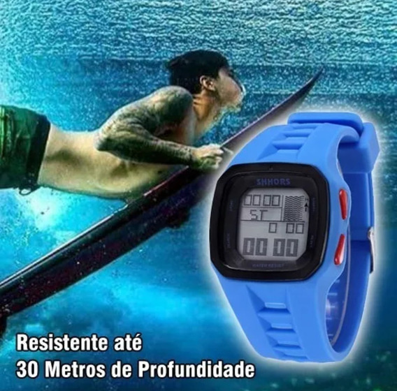 Relógio Modelo Surf Leve Confortável