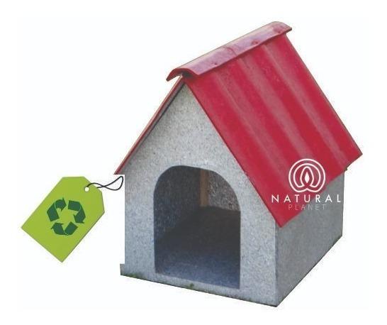 Casa Para Perro Ecológica De Alta Duración Mediana C/ Envío