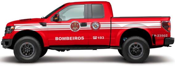 Miniatura Ford F-150 Bombeiros Sp