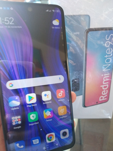 Celular Xiaomi Note 9s Nuevo Sellado