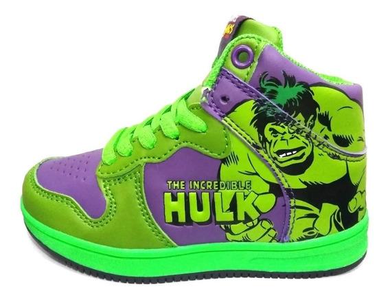 Zapatillas Botitas Hulk Marvel Avengers Funny Store