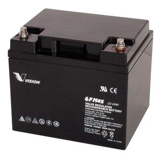 Batería 12v 45ah C10 Sellada Libre De Mantenimiento 6fm45x