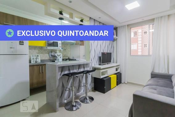 Apartamento No 12º Andar Com 2 Dormitórios E 1 Garagem - Id: 892947474 - 247474