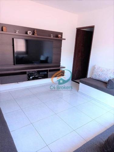 Imagem 1 de 20 de Sobrado Com 2 Dormitórios, 126 M² - Venda Por R$ 400.000,00 Ou Aluguel Por R$ 2.100,00/mês - Jardim Ipanema - Guarulhos/sp - So0671