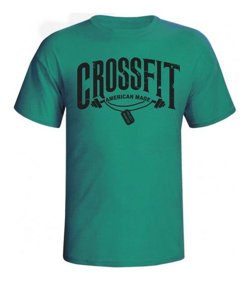 Camiseta Crossfit Fitness Masculina
