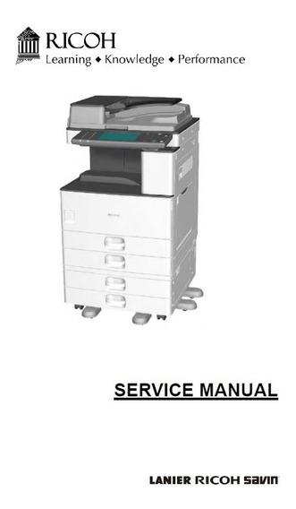 Manual Servicio Técnico Partes Ricoh Savin Lanier Gestetner