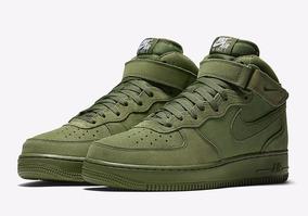 Zapatillas Nike Air Force 1 Mid Legion Verde Nuevo 2017