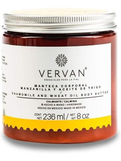 Vervan - Crema Corporal Manzanilla Y Aceite De Trigo 236ml