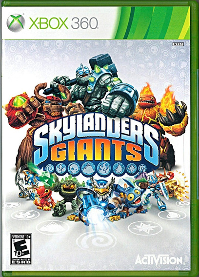 Skylanders Giants Xbox 360 Original Somente Mídia