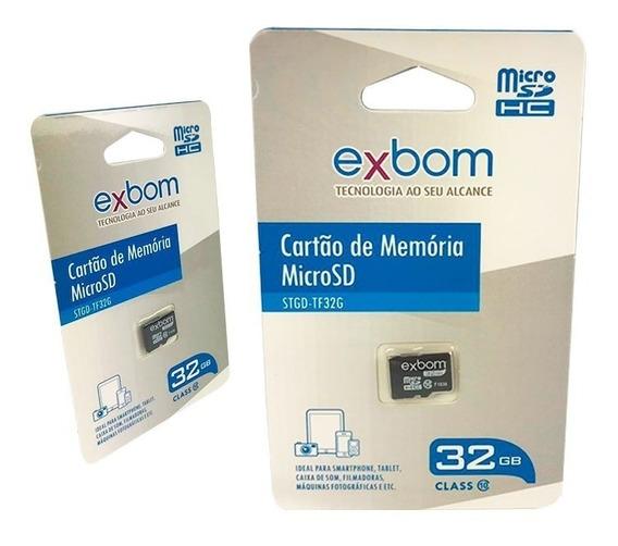 Cartão De Memória Barato 32gb Micro Sd Classe 10 Exbom Stgd