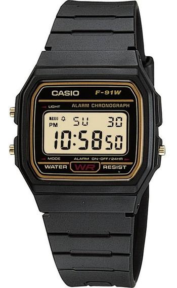 Relógio Casio Masculino F-91wg-9qdf-br