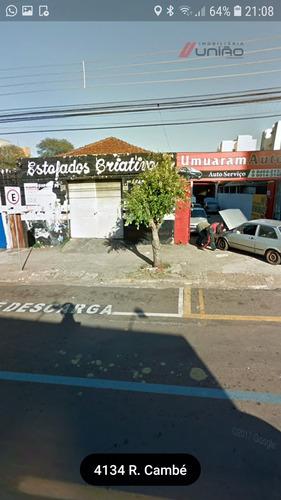 Salão Comercial Para Venda Na Rua Cambé, Zona Iii, Umuarama - Pr  -  Umuarama - 1444