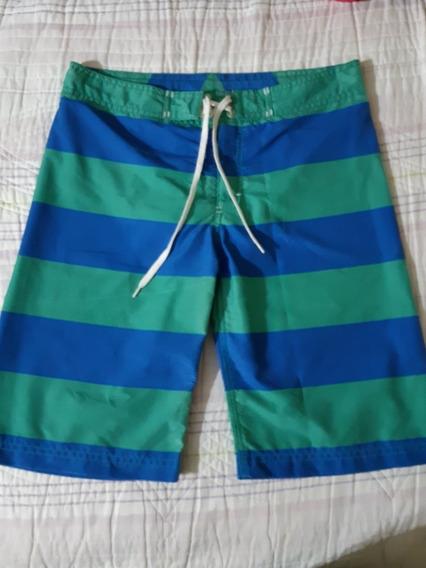 Bermuda Short De Baño Niño Mimo Talle 14