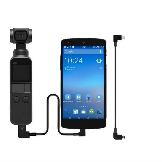 Cabo P/ Transf. Dados Conexão Usb-c Android P/ Osmo Pocket