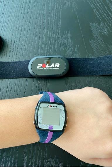 Relógio Cardíaco Polar Ft7 Azul/roxo
