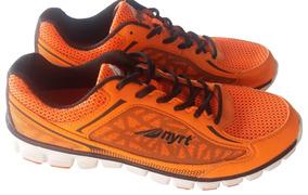 Zapatos Deportivos Nyrt Naranja Con Negro Talla 12 Nuevos