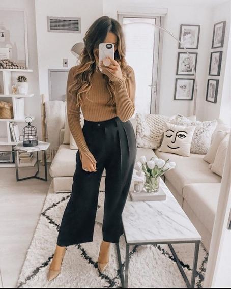 Suéter Dama Blusa Abrigos Manga Larga Moda