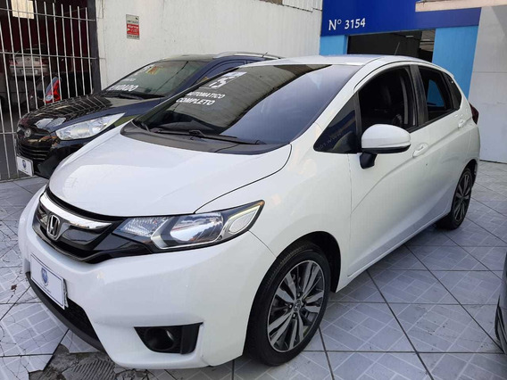 Honda Fit Ex Automatico 2015 Branco