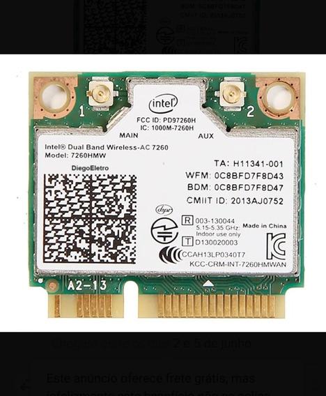 Placa Wifi Bluetooth Pci-e Intel 7260 Ac Adaptador Wireless